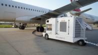 airplane starting unit