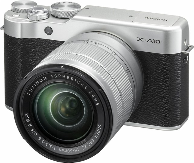 Fujifilm-X-A10-mirrorless-camera