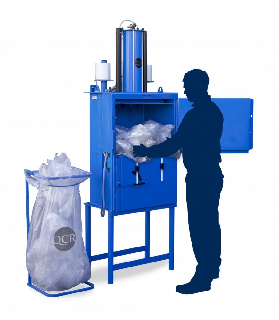 Baler for Recycling