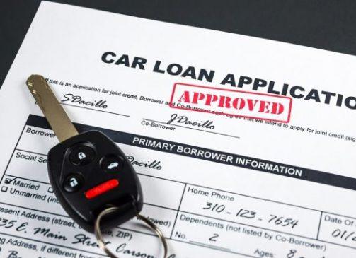 applying to a car loan
