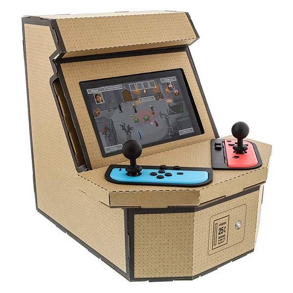 nylon_retro_arcade_kit_turns_nintendo_switch_into_arcade_cabinet