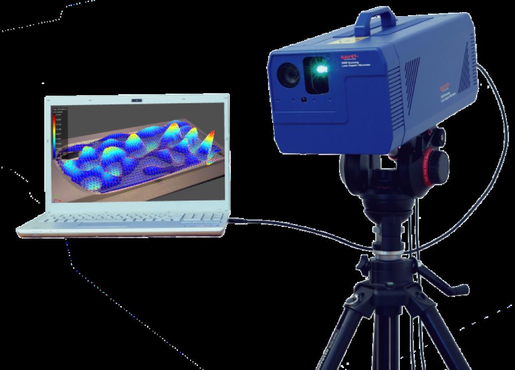 Laser vibrometry